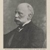 Professor Rüker, president-elect of the British Association, 1901. From a photo by George Newnes, Limited.