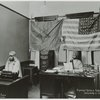 Prophet Noble Drew Ali, founder of the Moorish Science Temple of America and secretary, in his office