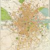 Large scale plan of Dublin.