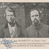 Ruskin and Rossetti in early life.