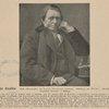 "John Ruskin. Nach photographie de London Stereoscopic Company. Abbidung aus Wülfer ""Geschichte der Englischen Litterature,"" 2 Auflage."