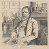 John Ruskin.--Drawn from life.
