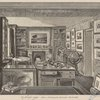 Mr. Ruskin's study. After a drawing by Alexander Macdonald.