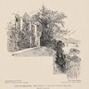 """The turret-room, """"Brantwood,"""" Coniston water, England (Ruskin's bedroom)."""