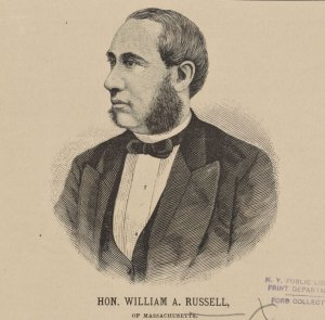 Hon. William A. Russell, of Massachusetts.