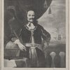 Admiral de Ruyter. From the picture by Ferdinand Bol. Born 1607. Died 1667.
