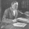 Viktor Rydberg. Professor, författare. Oljemålning av Albert Edelfelt 1893. NM.