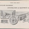 Cycloid Railroad Construction & Equipment Co.  Advertisement.