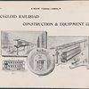 Cycloid Railroad Construction & Equipment Co.  Advertisement.