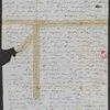 Blake, Harrison G. O., AL[S] to. [Mar. 27, 1848.] Mutilated.