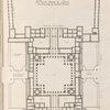 Plan du chasteau du Louvre.