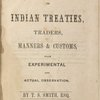 A dissertation on Indian treaties
