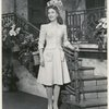 Betty Garrett in a scene from the stage production Something for the Boys.