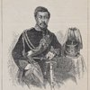 The newly crowned King of the Sandwich Islands. (From a photograph by Whipple, of Boston.)