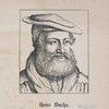 Hans Sachs. Geb. d. Nov. 1494, gest. d. 25. Jan. 1576.