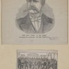 The Hon. John P. St. John. Prohibitionist candidate for the presidency ; Members of the Prohibition National Convention that nominated St. John, at Pittsburgh, 1884.