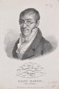 Institute Royal de France. Acadie. des inscripons. et belles-lettres (hisre. ancienne et langues orientles.) Saint-Martin, (Jean-Antoine.) Né à Paris le 17 Janvier 1791; élu en 1820.