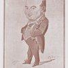 Portrait charge de Sainte-Beuve