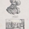 Saladin. La reine de Jérusalem accompangnée des principaux barons et chevaliers venait ensuite, Saladin respecta sa douleur, et lui adressa des paroles pleines de bonté