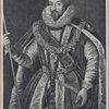 The first Earl of Salisbury. Engraved by Etienne Picart (1631-1721), after a painting by Zuccaro.
