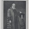 The late Marquis of Salisbury, Chancellor of the University of Oxford, in his official robes