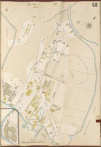 Bronx, V. A, Plate No. 58 [Map bounded by Pugsley's Creek, Westchester Creek, East River.]