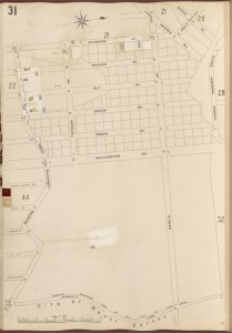 Bronx, V. B, Plate No. 31 [Map bounded by Wicknam Ave., E. 239th St., Vernon Parkway South, Munday's Lane, Bussing Ave.]
