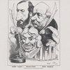 Les auteurs de Jean de Thommeray... Emile Augier, Mounet-Sully, Jules Sandeau