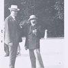 John Quinn and Constantin Brancusi at Paris, 1921