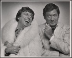 La Publicity photo of George Hearn and Gene Barry in Cage Aux Folles, 1983 Aug.