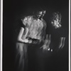 [Morgan Freeman (center) and unidentified actresses in Exhibition (Actors Playhouse), 1969 Apr.-May]