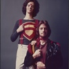 [Publicity photo of Stephen Nathan and David Haskell in Godspell, 1971 June]