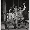 [Gilmer McCormick, Herb Braha, and Robin Lamont in Godspell, 1971 June]