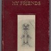 The Ghosts of My Friends (Autograph Book). Front cover