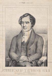 Arago. Membre de l'Insitute et de la Chambre des Députés / A. Scheffer pinxt. ; Lith. Caboche & Cie.