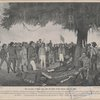 The surrender of Santa Anna after the battle of San Jacinto, April 22, 1836