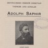 Adolph Saphir.