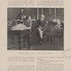 Victorien Sardou dans le cabinet de M. Claretie.