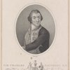 Sir Charles Saunders K.B. Admiral of the Blue Squadron. First Lord Commiss of the Admiralty &
