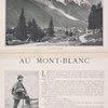 View genéral de Chamonix ; Un guide.
