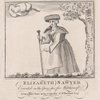 Elizabeth Sawyer. Executed in the Year 1621 for witchcraft. From a rare print in the collection of W. Beckford, Esqr.