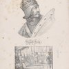 Scanderberg ; Scanderberg , don les Turcs assiègeaient la Capitale, vint alors solliciter lui-même les secours du Pape
