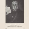 Alessandro Scarlatti. (Anonymous oil painting. Liceo Musicale, Bologna.) Scarlatti tercentenary b. May 2, 1660.