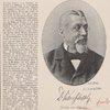 Joseph von Sheffel. Photographie von Juni 1883.