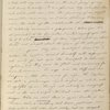 My dearest Mother, It is time... Dec. 20, 1833. Letter copied by EPP