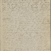 My dearest Mother, I have such a... ALS. Jan. 3, 1835.