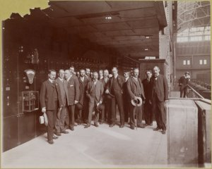 Photographic views of the construction of the New York City subway system, 1901-1905