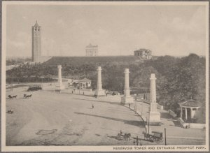 Reservoir Tower and Entrance Prospect Park.