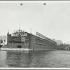 [Cunard and White Star Lines at Pier 54, North River]