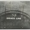 [Grace Line at Pier 58, North River]